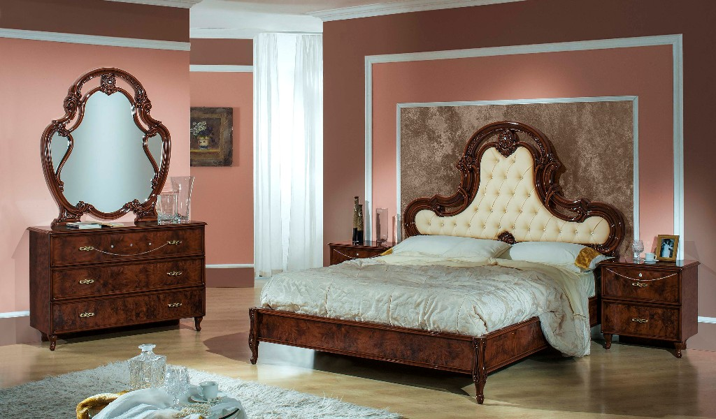 schlafzimmer ginevra noce h2o. Black Bedroom Furniture Sets. Home Design Ideas
