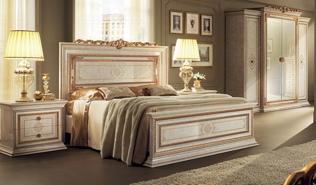 schlafzimmer leonardo mobili italiani italienische m bel. Black Bedroom Furniture Sets. Home Design Ideas