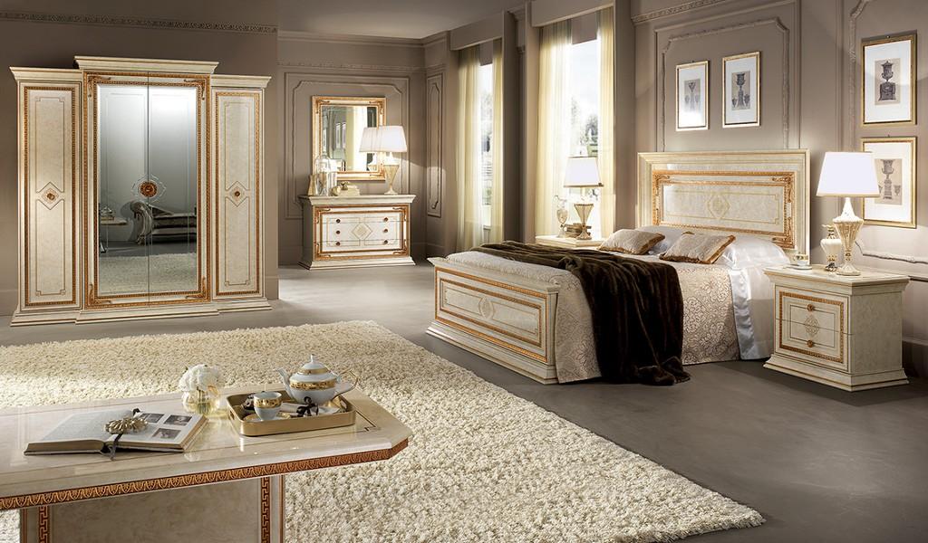Schlafzimmer leonardo mobili italiani italienische m bel for Italienische schlafzimmer set