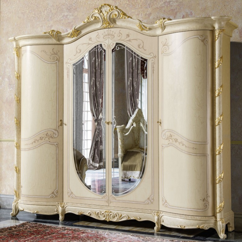 Kleiderschrank 4-türig Madame Royale MP