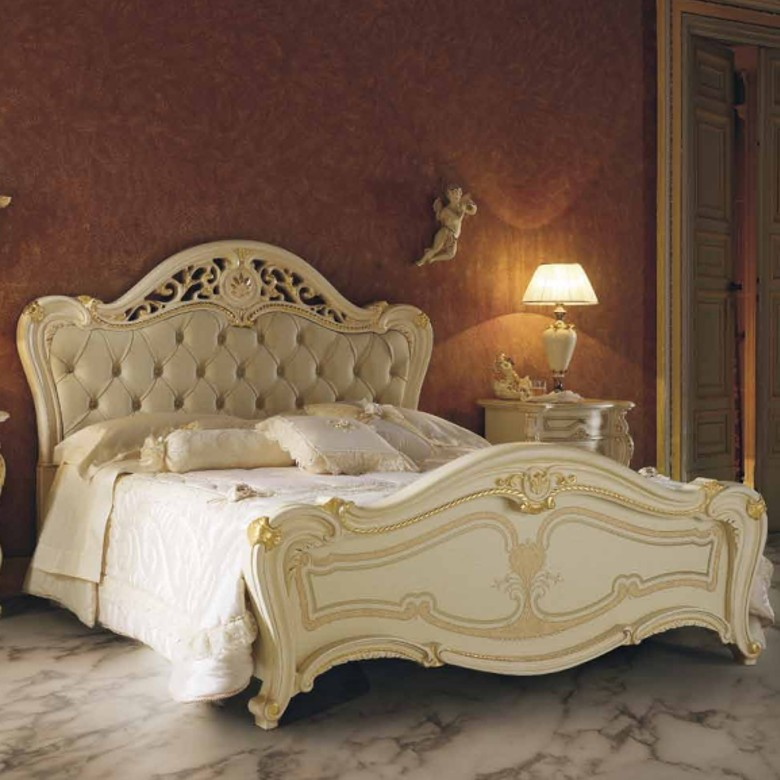 Bett Opera Super King Size Capitonne MP
