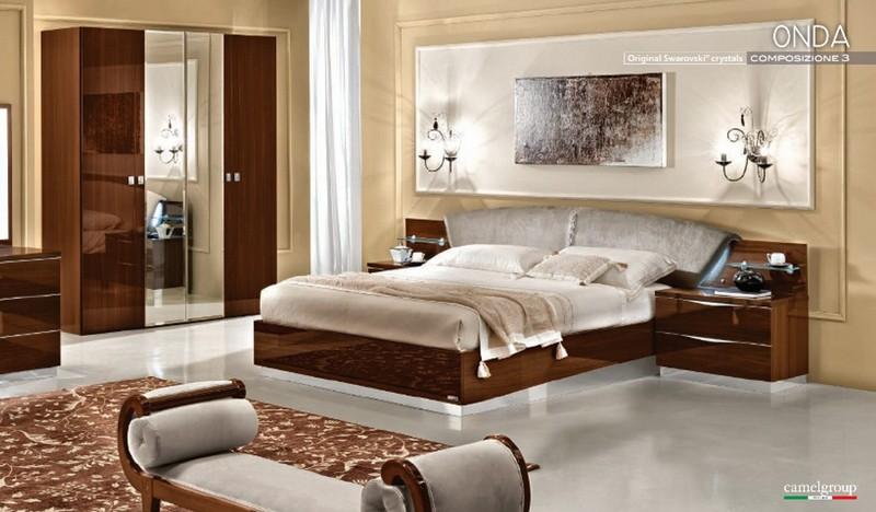 schlafzimmer onda noce italienische m bel mobili. Black Bedroom Furniture Sets. Home Design Ideas