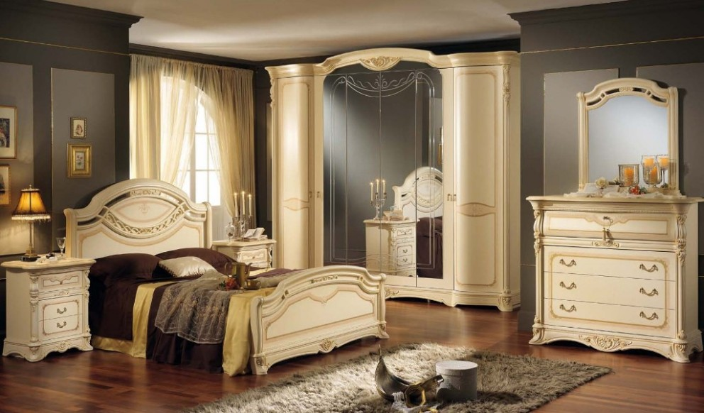 schlafzimmer regina italienische m bel mobili italiani. Black Bedroom Furniture Sets. Home Design Ideas