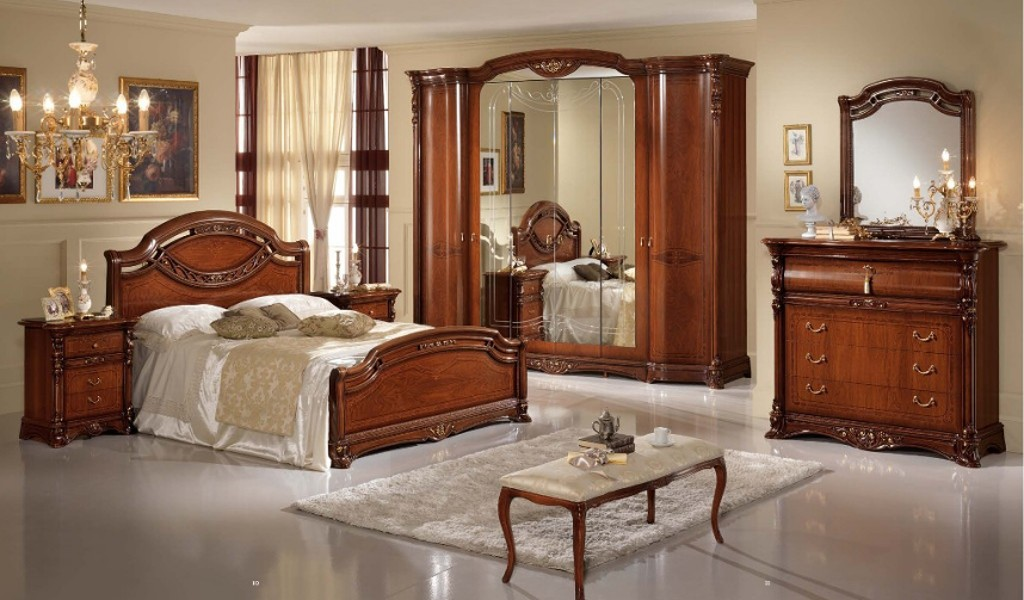 schlafzimmer regina italienische m bel mobili italiani paratore. Black Bedroom Furniture Sets. Home Design Ideas