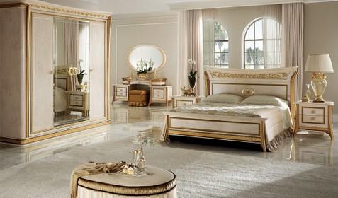 Schlafzimmer Melodia - Italienische Möbel, Mobili italiani Paratore