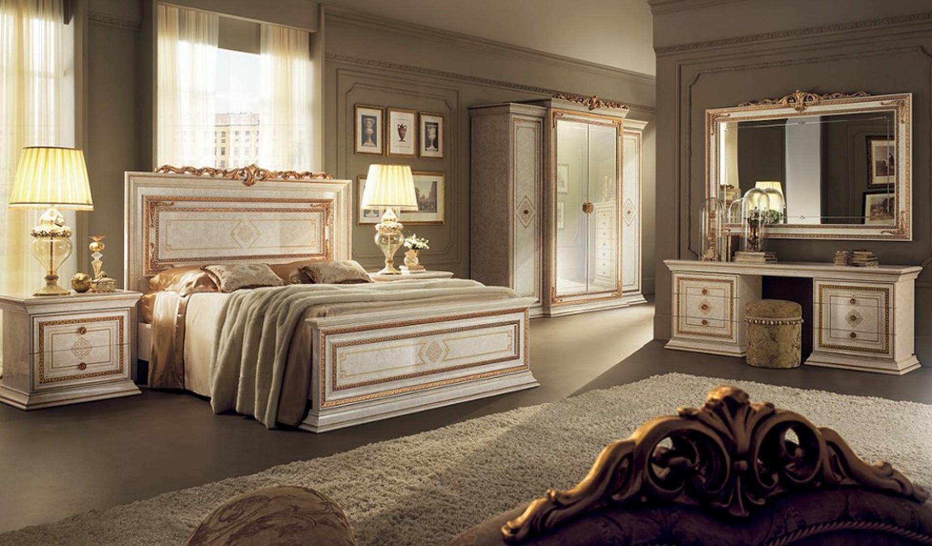 Schlafzimmer Leonardo - mobili italiani, italienische möbel