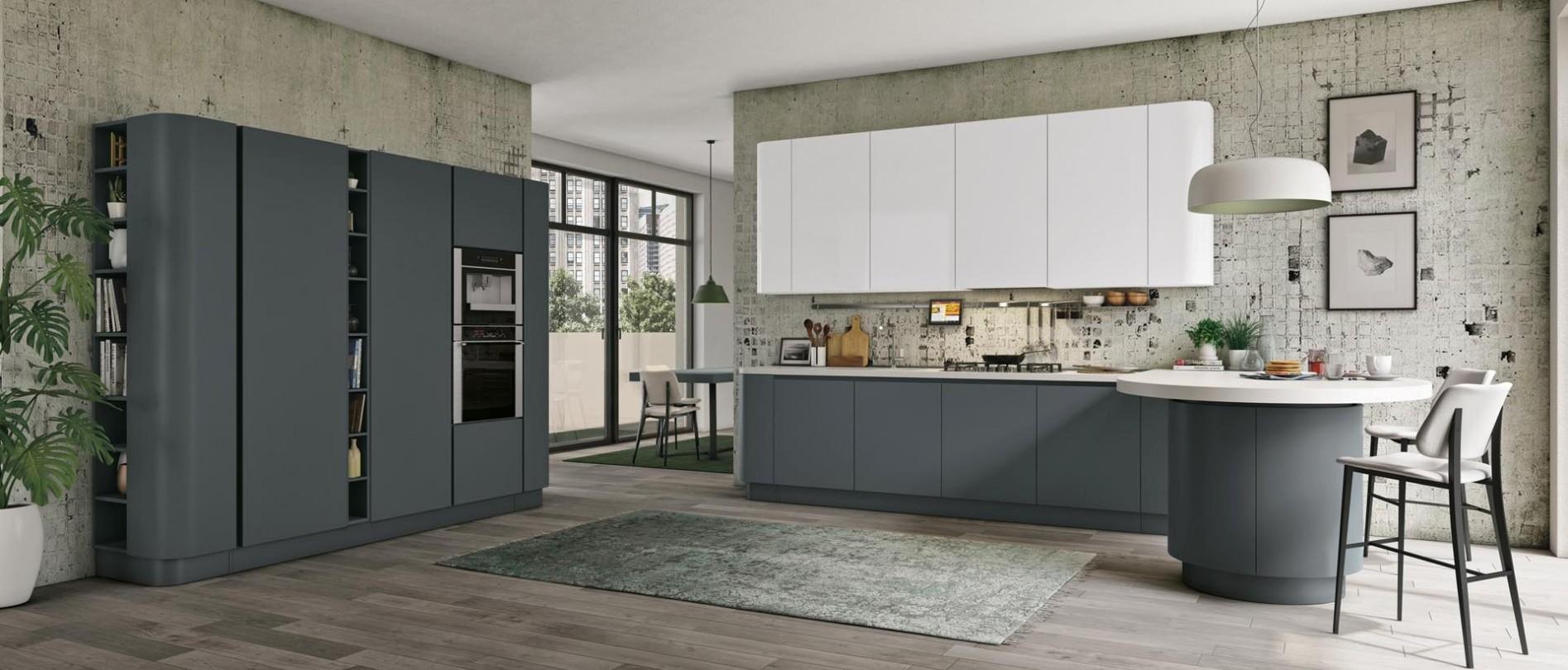 Einbauküche Clover Home. Klassische Küche Pantheon · Einbauküchen Modern. Italienische  Möbel Paratore