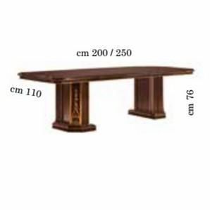 Tisch Klassisch Mobili Italiani Paratore