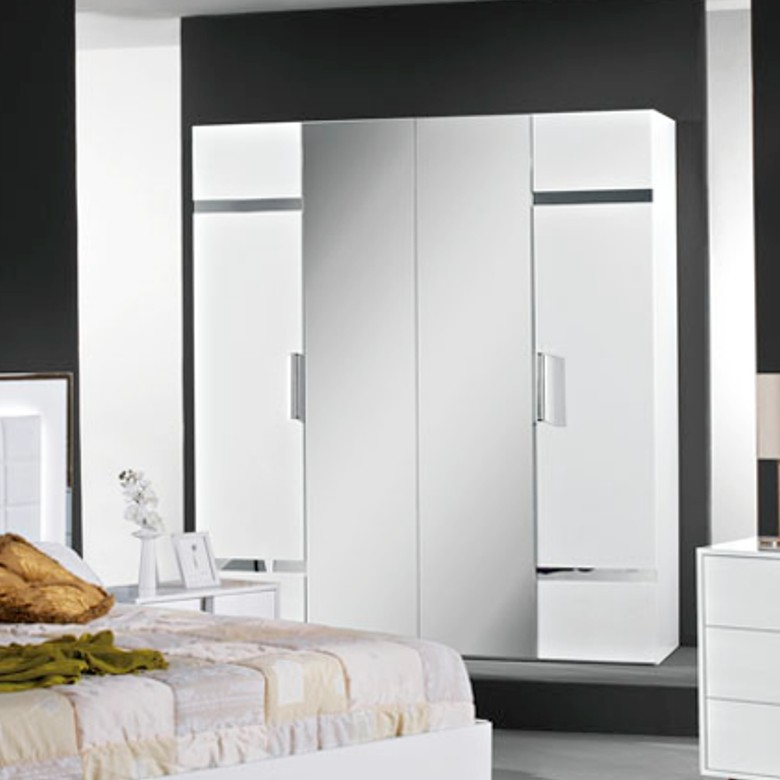 schlafzimmer san marino white h2o italienische m bel mobili italiani paratore. Black Bedroom Furniture Sets. Home Design Ideas