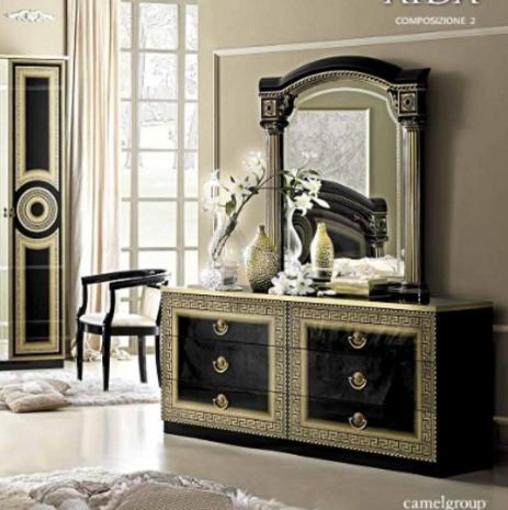 kommode und schminktisch klassisch italienische m bel. Black Bedroom Furniture Sets. Home Design Ideas