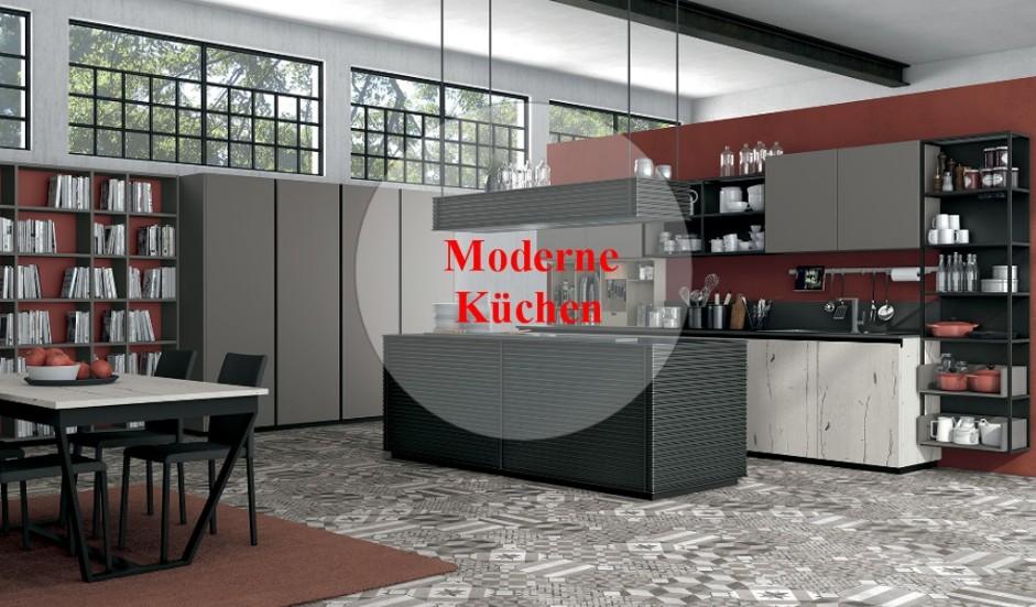 Einbauküchen Modern. Italienische Möbel Paratore