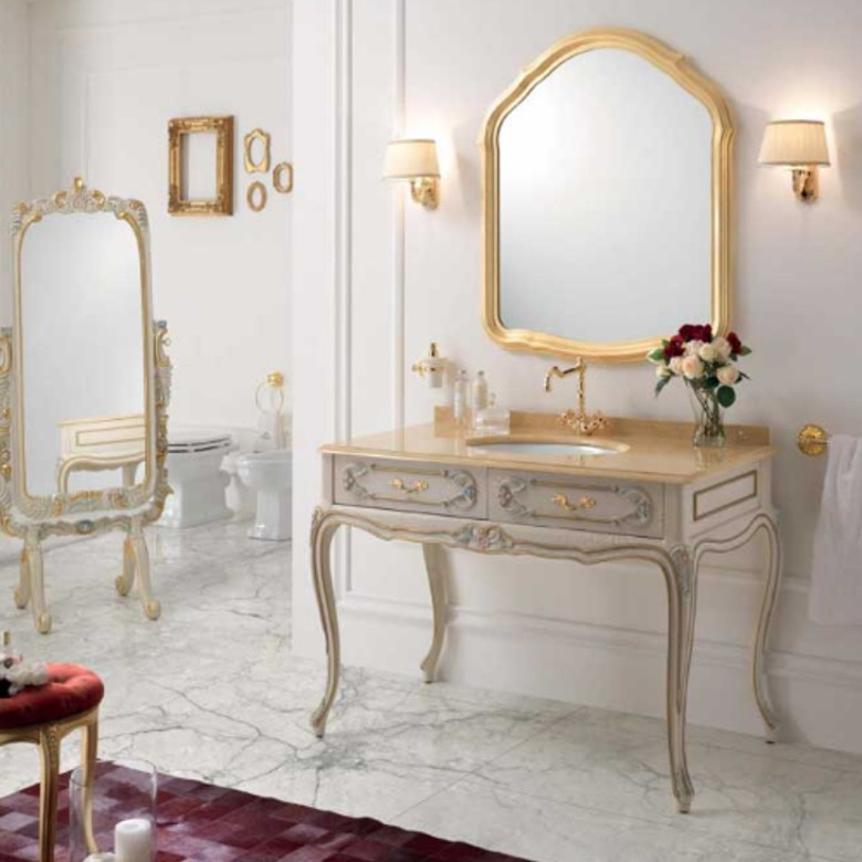 Möbel Bad Luxury Cracle Veneziano Gold