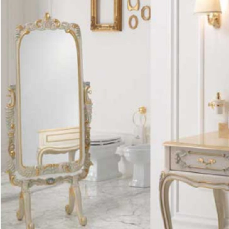 Spiegel Luxury Cracle Veneziano Gold
