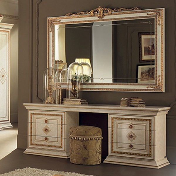 schmink tisch cheap details zu mit hocker spiegel wei. Black Bedroom Furniture Sets. Home Design Ideas